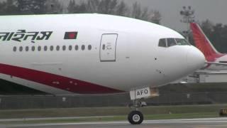 getlinkyoutube.com-Biman Bangladesh Airlines Boeing 777-300ER  Delivery Flight