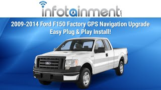 getlinkyoutube.com-2009-2014 Ford F150 Factory GPS Navigation Upgrade! Easy! Radio Removal Installation