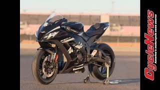 getlinkyoutube.com-2017 Kawasaki ZX-10RR Track Test - Cycle News