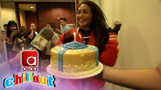 ASAP Chillout: ASAP Chillout's birthday surprise for Kathryn!