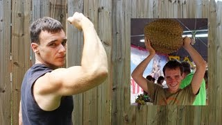 getlinkyoutube.com-What A Low Protein Fruitarian Diet Did To My Muscles