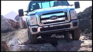 getlinkyoutube.com-All new Ford Super Duty 2011 Media Drive Quarry