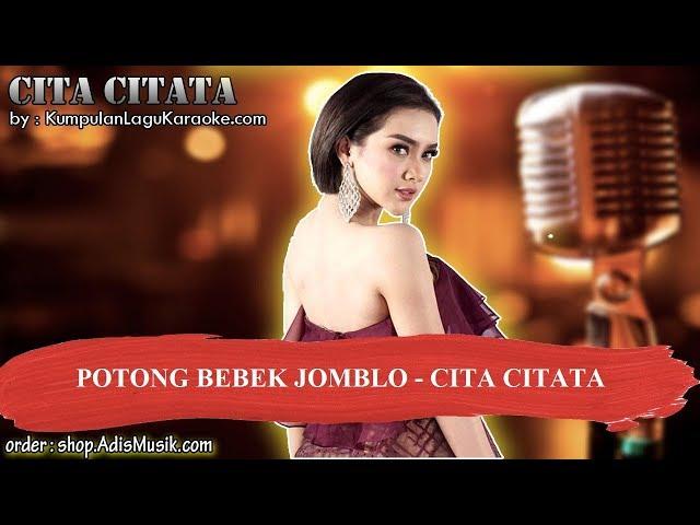 POTONG BEBEK JOMBLO - CITA CITATA Karaoke