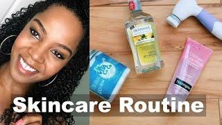 getlinkyoutube.com-My Skincare Routine for Clear & Glowing Skin! | Day & Night