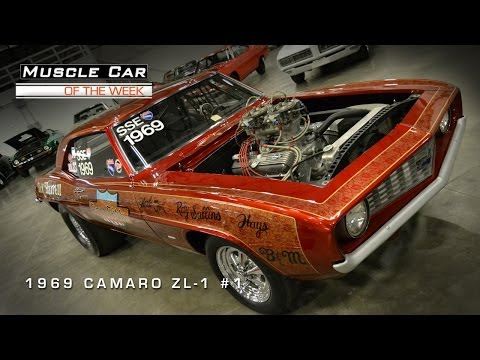 Muscle Car Of The Week Video #1: 1969 Camaro ZL-1 #1!