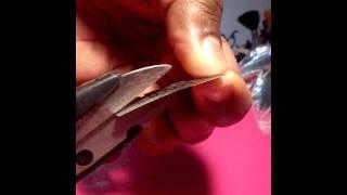 getlinkyoutube.com-Como fazer caneta capilar caseira
