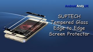 getlinkyoutube.com-SUPTECH Galaxy Note 5 Tempered Glass FULL Screen Protector