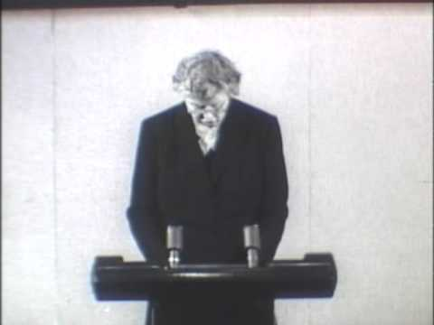 Eleanor Roosevelt  Addressing the United Nations General Assembly