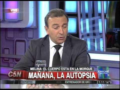 C5N - CHICHE EN VIVO: EL CUERPO ENCONTRADO SERIA DE MELINA ROMERO