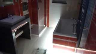 getlinkyoutube.com-Remont łazienki - oświetlenie LED w fugach