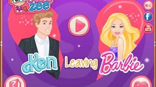 getlinkyoutube.com-Barbie Make Up and Dress Up Games Ken Leaves Barbie Game Free