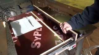 Циркулярный стол из ручной циркулярной пилы своими руками