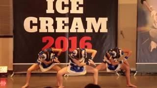 getlinkyoutube.com-ICECREAM CONTEST 東京予戦3回戦 U-12部門準優勝:ちびーずfrom花鳥風月