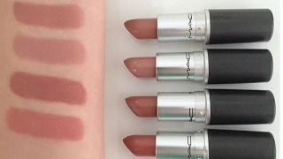 Top 5 MAC Lipsticks | Nude | Light-Medium/ Olive Skin Tone