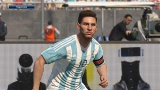 getlinkyoutube.com-Tutorial uniforme de Argentina eliminatorias Rusia2018 para PES2016 PS4 Next-Gen PESnosUNE