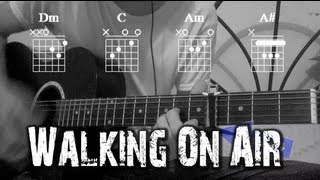 How to Play ?Walking On Air? by Katy Perry  Full Guitar Tutorial  Como Tocar en Guitarra