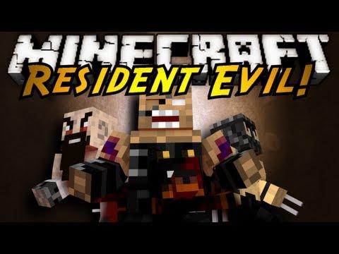 Minecraft Mod Showcase : RESIDENT EVIL!