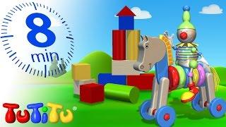 getlinkyoutube.com-TuTiTu Specials | Wooden Toys for Children | Wooden Cars, Wooden Blocks and More!