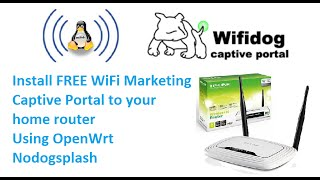 getlinkyoutube.com-Install Free WiFi Marketing captive portal on tp-link wr841n