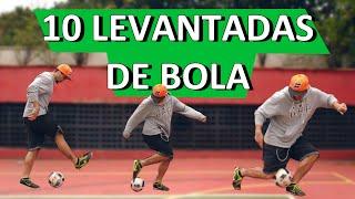 10 LEVANTADAS DE BOLA (10 FOOTBALL/SOCCER FLICK UPS)
