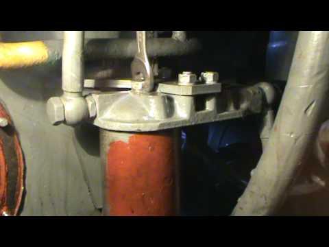 SM42 Wymiana filtrów paliwa  |  Changing fuel filters on SM42 diesel locomotive