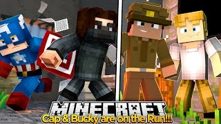 getlinkyoutube.com-Minecraft Adventure - ON THE RUN WITH THE WINTER SOLIDER!!!