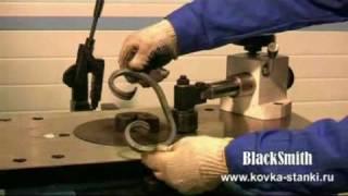getlinkyoutube.com-Универсальный станок для ковки UNV2  BlackSmith