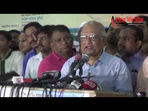 সরকারকে ধাক্কা দিলেই পড়ে যাবে:খন্দকার মোশাররফ