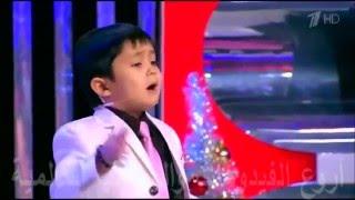 getlinkyoutube.com-شاهد الطفل الأوزبكي _ الذي تفنن في أغنية انتي باغية واحد  _ يغني لايف