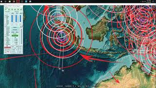 6/19/2018 -- California Volcanic plume location NOW HIT BY EARTHQUAKE + Hawaii volcanoes update
