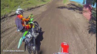 getlinkyoutube.com-GoPro: 2 vs 4 Stroke Battle at Redbud Motocross - Dirt Bike Addicts