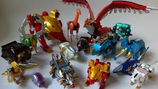 getlinkyoutube.com-Hyakujuu Sentai Gaoranger Power Animals 1~9 百獣戦隊ガオレンジャー パワーアニマル 1~9