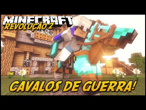 Minecraft: A REVOLUÇÃO 2 - CAVALOS DE GUERRA!  #17