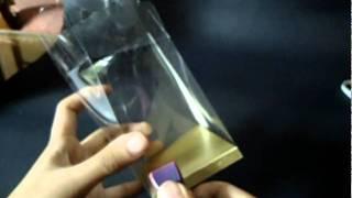 getlinkyoutube.com-tutorial: melipat mika souvenir alas emas (bentuk standard)
