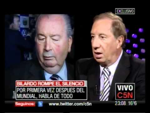 C5N ESTA NOCHE - CARLOS BILARDO SOBRE JULIO GRONDONA