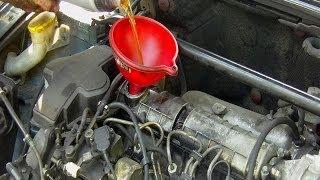 getlinkyoutube.com-Cambio  filtro de aceite & vaciado de aceite del motor paso a paso