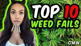 getlinkyoutube.com-Top 10 Smoking Weed Fails