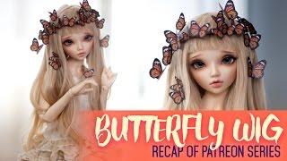 getlinkyoutube.com-Butterfly-Boho Wig RECAP - Patreon exclusive series