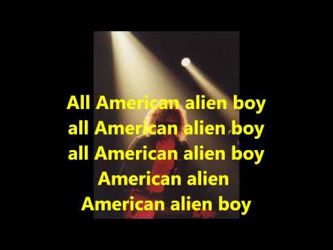 10  Ian Hunter   All American Alien Boy 1976 with lyrics