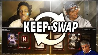 PULLED THE BEST CARD!  WINNER TAKES ALL KEEP OR SWAP W/ iJOSHYIFY ! MADDEN 17 CHALLENGE PACK OPENING