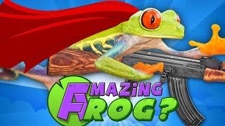 getlinkyoutube.com-AMAZING FROG Gameplay Part 1 - Like Goat Simulator, But Frogs!