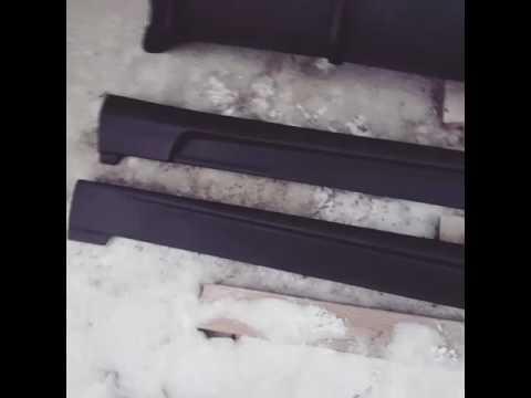 Видеообзор - Комплект обвеса на Hyundai getz со вставками под туманки...