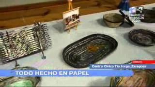 getlinkyoutube.com-Aragon en Abierto 220212 Expo artesania papel