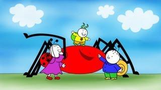 Bogyó és Babóca: A barlangi pók