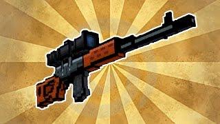 getlinkyoutube.com-Pixel Gun 3D - Guerilla Rifle [Review]