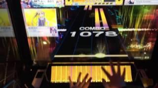 getlinkyoutube.com-【CHUNITHM】Oshama Scramble!(WORLD'S END/改)AJ 手元