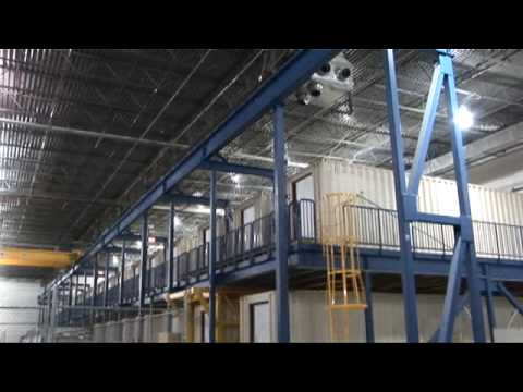 Google container data center tour