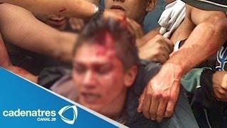 getlinkyoutube.com-¡IMPRESIONANTE! Intentan linchar a conductor de ruta por matar a dos adultos mayores