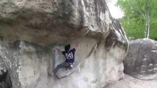 getlinkyoutube.com-Bouldering in Fontainebleau 2014 フォンテーヌブロー ボルダリング