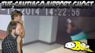 getlinkyoutube.com-Ghost Attack!? Caught on Security Camera in Santiago Airport | Boo Review #2
